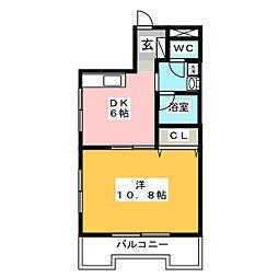 セントラルヴィラ[2階]の間取り