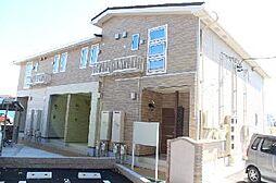 愛知県額田郡幸田町大字大草字松山の賃貸アパートの外観
