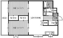 第27川崎ビル[2階]の間取り
