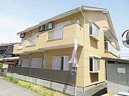 滋賀県甲賀市水口町高塚の賃貸アパートの外観
