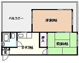 芦屋小槌ハイツ[3階]の外観