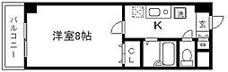 フェニックス堀川II[203号室]の間取り
