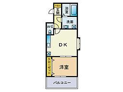 スカイシャトレ[5階]の間取り