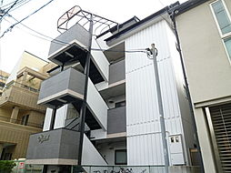 大阪府大阪市阿倍野区阪南町3丁目の賃貸マンションの外観