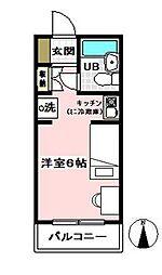 ベルノ21[3階]の間取り
