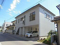 長野県松本市新橋の賃貸アパートの外観