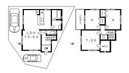 一戸建て(木幡駅から徒歩14分、89.46m²、2,695万円)