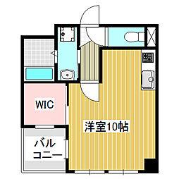 愛知県名古屋市港区正保町8丁目の賃貸マンションの間取り