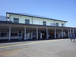JR久里浜駅へ...