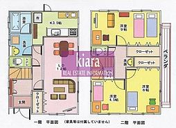[一戸建] 神奈川県横浜市神奈川区羽沢町 の賃貸【/】の間取り