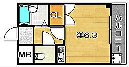 AIビル[2階]の間取り