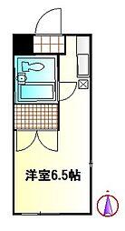 アルテミスTOKAI[2階]の間取り