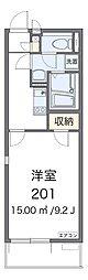 Osaka Metro谷町線 平野駅 徒歩8分の賃貸マンション 3階1Kの間取り