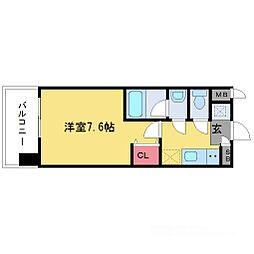 レジディア新大阪[5階]の間取り