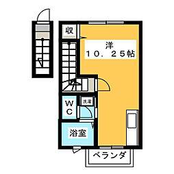 Spring House V[2階]の間取り