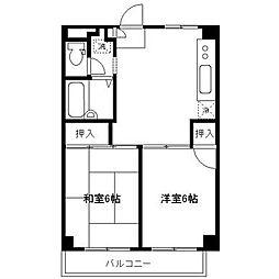 第二京香ビル[2階]の間取り