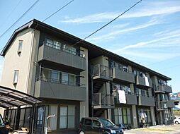 滋賀県東近江市妙法寺町の賃貸マンションの外観