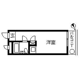 TOP・二子玉川第2[0205号室]の間取り