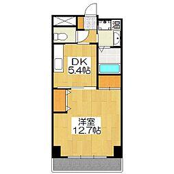 京都ガーデンテラス[409号室]の間取り