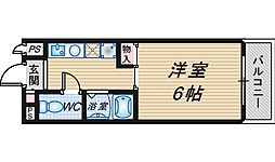 RIGEL岡町[2階]の間取り
