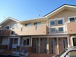 神奈川県相模原市中央区上溝7丁目の賃貸アパートの外観