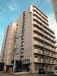 北海道札幌市中央区南十二条西8丁目の賃貸マンションの外観