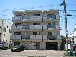 北海道札幌市東区北十九条東5丁目の賃貸マンションの外観