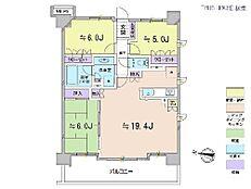 3LDK・専有面積78平米・バルコニー面積14.8平米