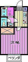 スペース南浦和[2階]の間取り