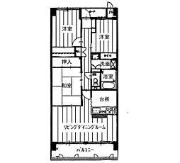 KDXレジデンス茨木II(旧:レガーロ茨木II)[0305号室]の間取り
