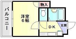 メゾンド昴[3階]の間取り