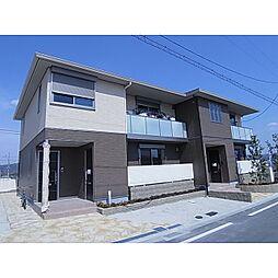 京都府木津川市城山台7丁目の賃貸アパートの外観