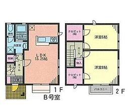 [テラスハウス] 神奈川県横浜市中区本牧大里町 の賃貸【/】の間取り