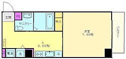 プログレス アペゼ[3階]の間取り