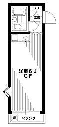 NHレジデンス中野[2階]の間取り