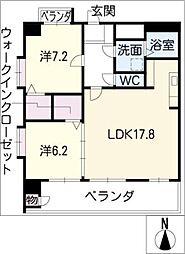 プロビデンス葵タワー[14階]の間取り