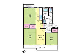 若葉台第一住宅「眺望良好、南東向きの暖かなお住まい」