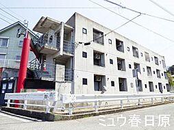 福岡県春日市小倉3丁目の賃貸マンションの外観