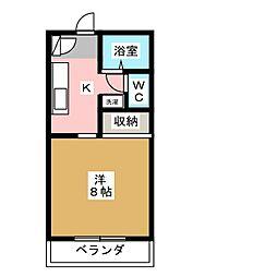 シャルムグリーンII[2階]の間取り