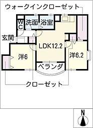プリメーラ神守[2階]の間取り