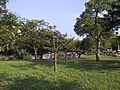 菖蒲園で有名な...