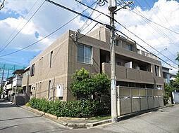 兵庫県西宮市上之町の賃貸マンションの外観