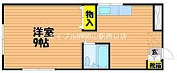 塚本マンション[3階]の間取り