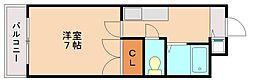 キララ的場[2階]の間取り