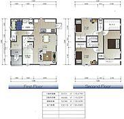 建築プラン例(19号地)建物価格:1、780万円、間取り:3LDK、建物面積:100.19平米