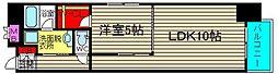 コンソラーレ桜川V[9階]の間取り