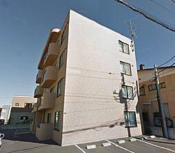 北海道札幌市東区東雁来九条1丁目の賃貸マンションの外観