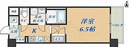 CASSIA高井田NorthCourt 8階1Kの間取り