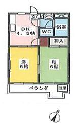 AQUA CITY新川崎[3階]の間取り