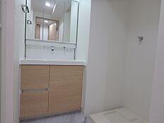 忙しい朝に重宝するシャワー付洗面台